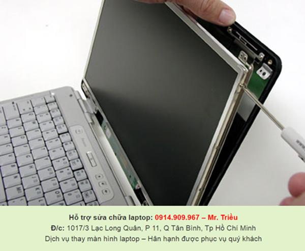 Nên làm gì khi màn hình laptop bị lỗi hư hỏng, tại đâu sửa chữa uy tín trong Sài Gòn?