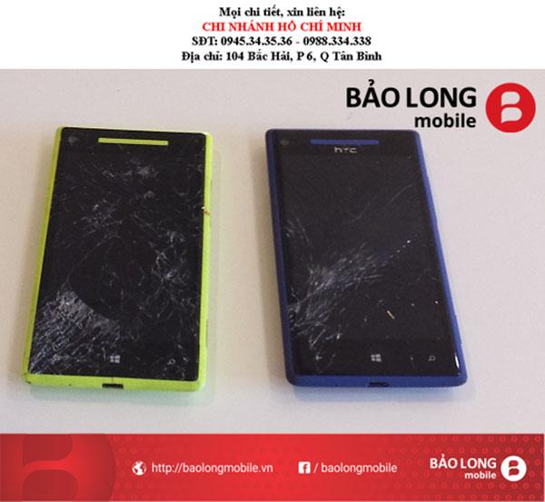Làm sao để khắc phục lỗi màn hình HTC 8X không chính xác và bị đơ?