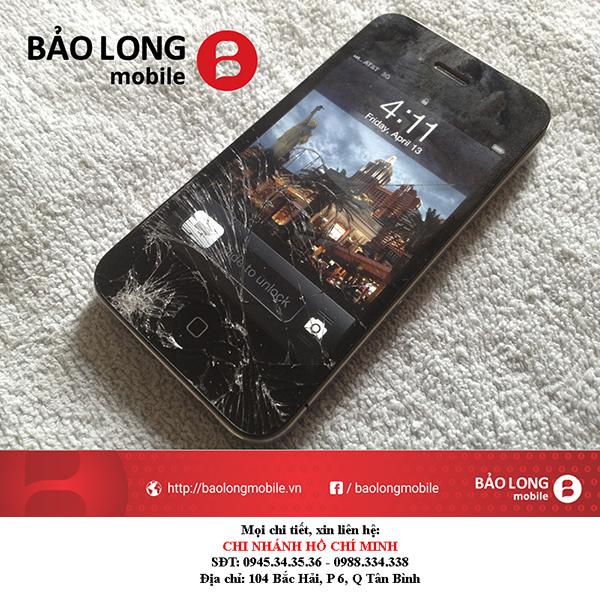 Dùng cách gì để khắc phục được tình huống cảm ứng iPhone 4 kém nhạy trong TP.HCM?