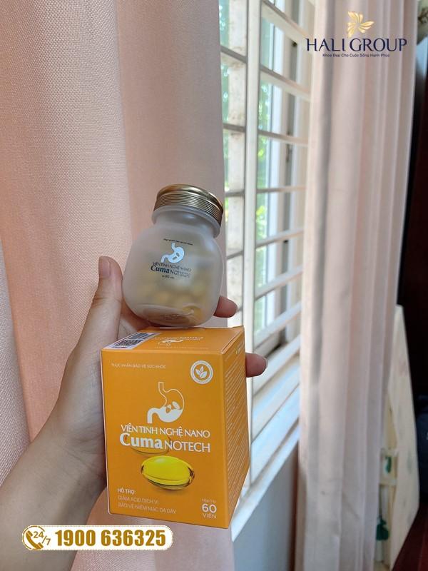 """Viên Nghệ Nano Curcumin Dạ Dày Trấn Thành - sản phẩm """"vàng"""" cho người có vấn đề dạ dày"""