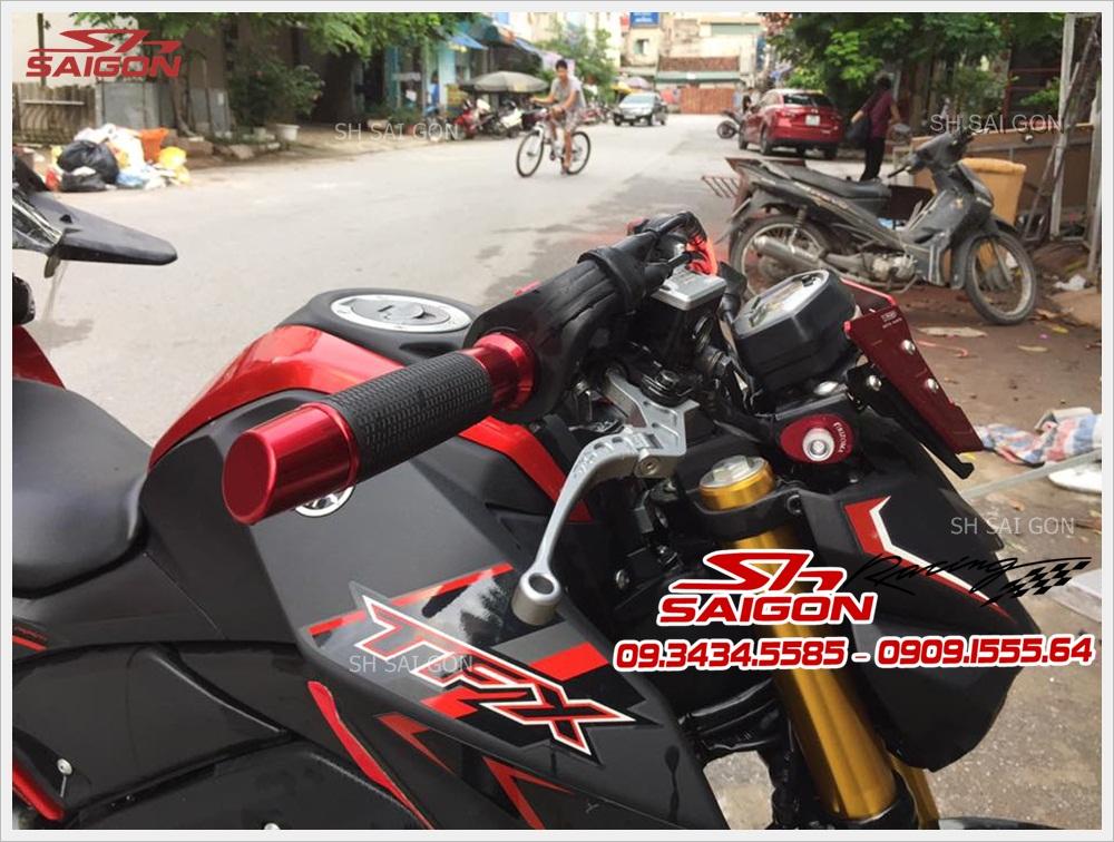 Xe TFX 150 lắp bao tay tay thắng kính chiếu hậu cực đẹp giá tốt nhất uy tín tại Hồ Chí Minh