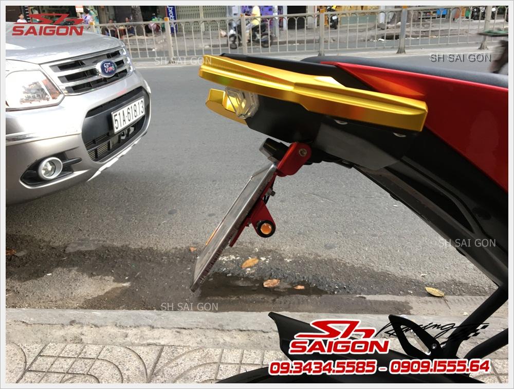 Xe TFX 150 trang bị pát biển số cực chất giá phải chăng cao cấp ở SG