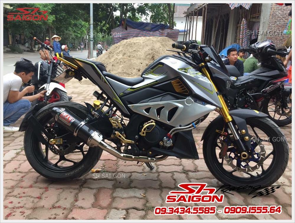 Xe TFX gắn pô độ sang trọng giá tốt nhất cao cấp tại Cửa hàng SH Sài Gòn