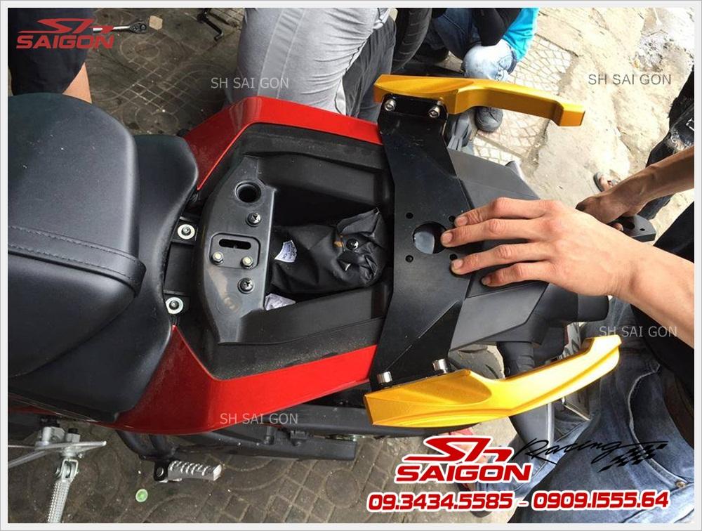 Xe TFX 150 lắp tay dắt sau cực đẹp giá tốt nhất chính hãng tại SG