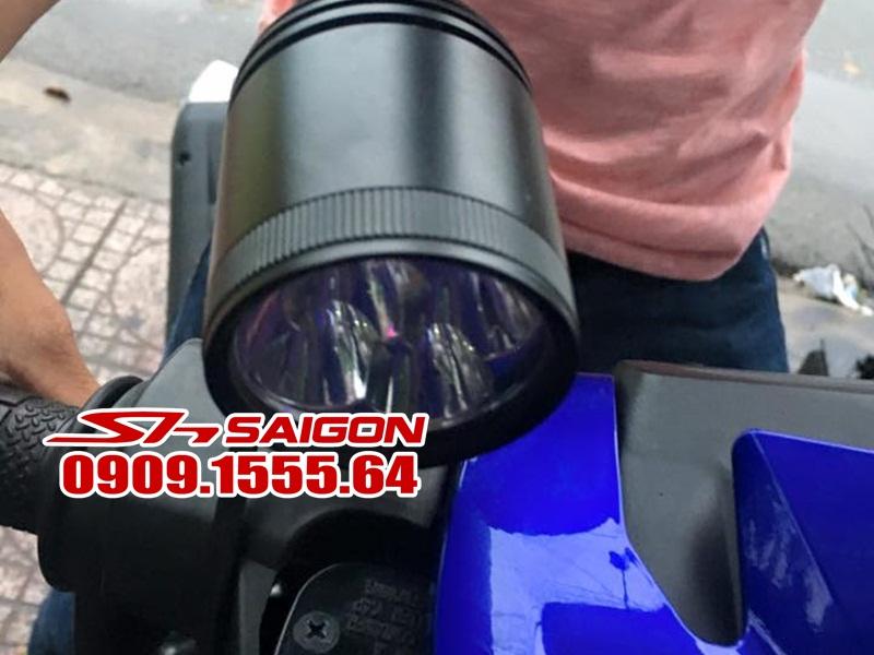 Độ đèn pha Led l4 cho xe Exciter 159