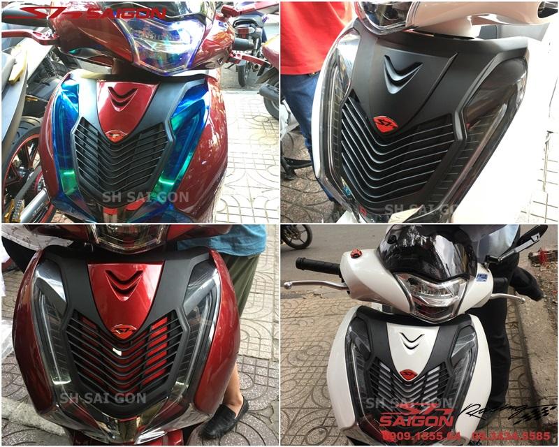 Shop chuyên bán mặt nạ kiểu ý mẫu 2 cho xe Honda SH 2018 2019 uy tín giá ưu đãi tại Tp.Hồ Chí MinhSài Gòn