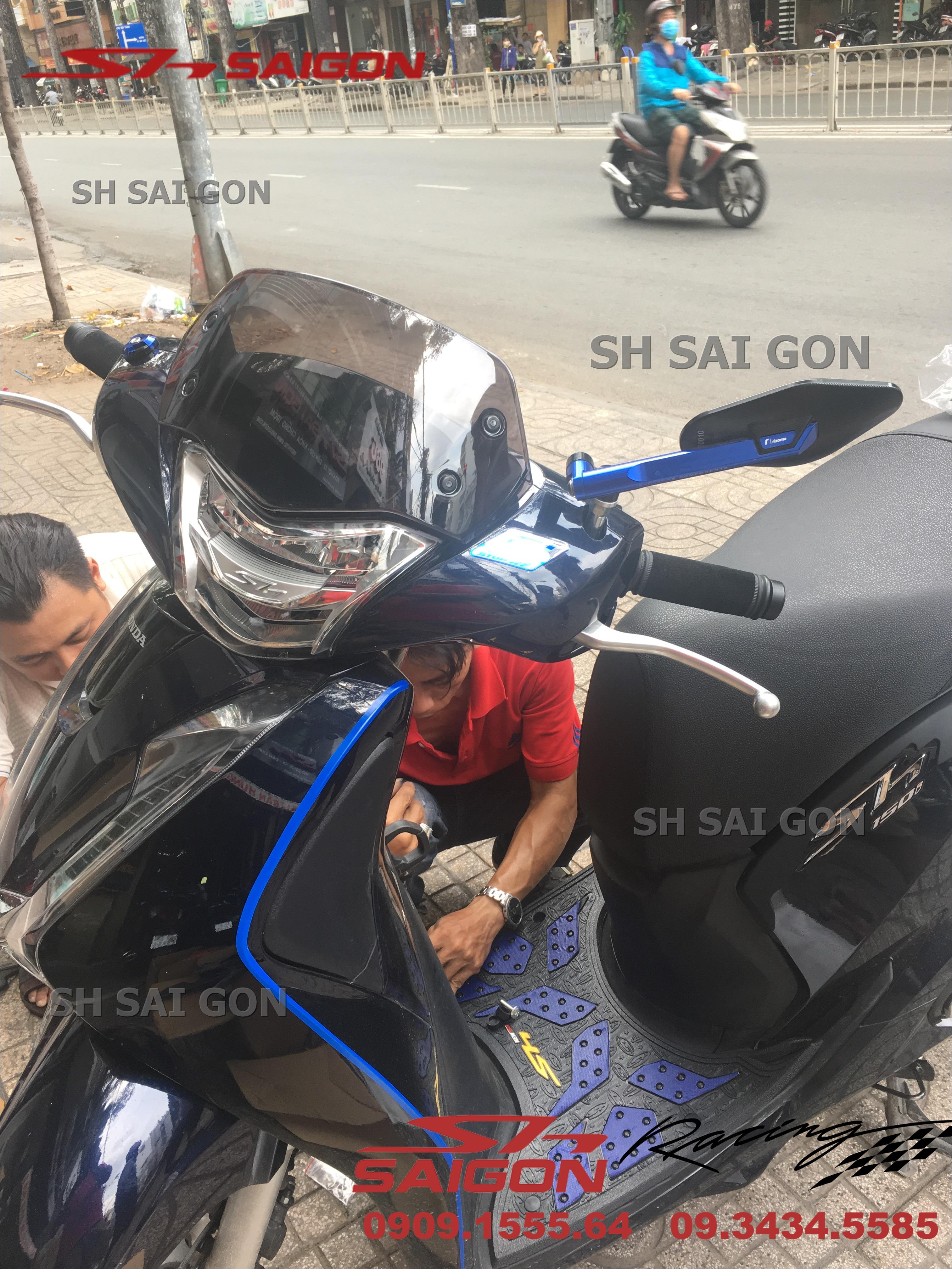 Photo xe SH Việt Nam 2017 2018 2019 thay kính chắn gió chất lượng giá rẻ tại Sài Gòn
